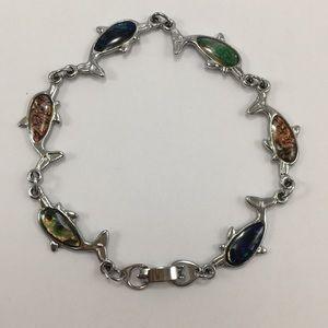 Jewelry - Multi Color Dolphin Bracelet